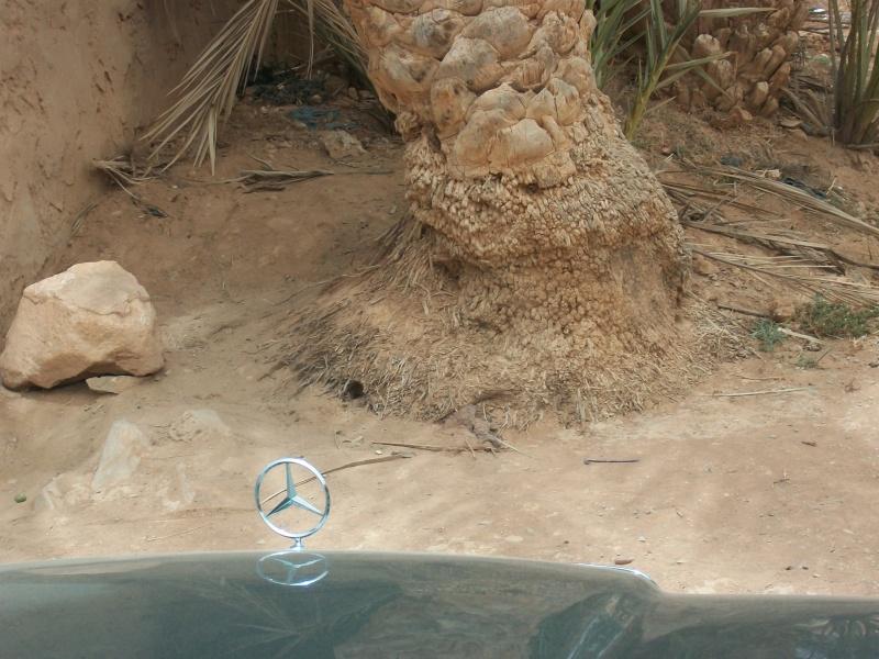 En route vers le sahara, avec ma Mercedes!  100_3413