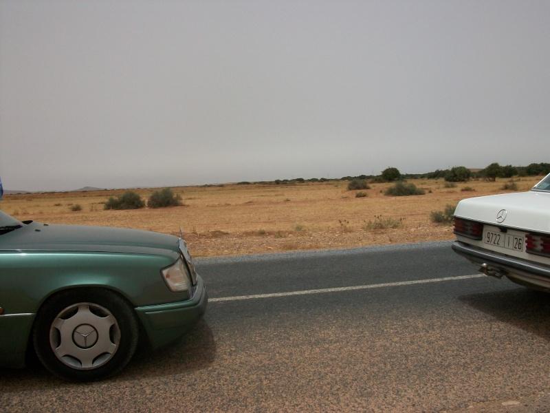 En route vers le sahara, avec ma Mercedes!  100_3422