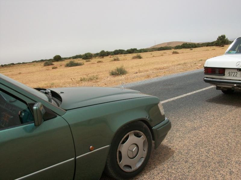 En route vers le sahara, avec ma Mercedes!  100_3423