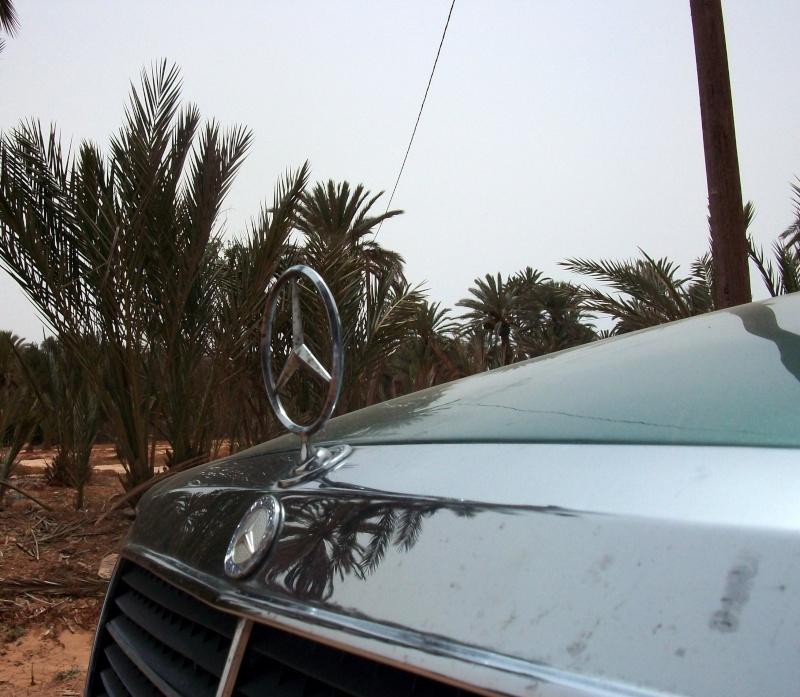En route vers le sahara, avec ma Mercedes!  100_3432