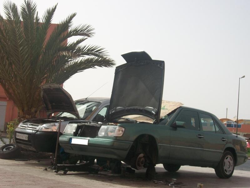 En route vers le sahara, avec ma Mercedes!  100_4113