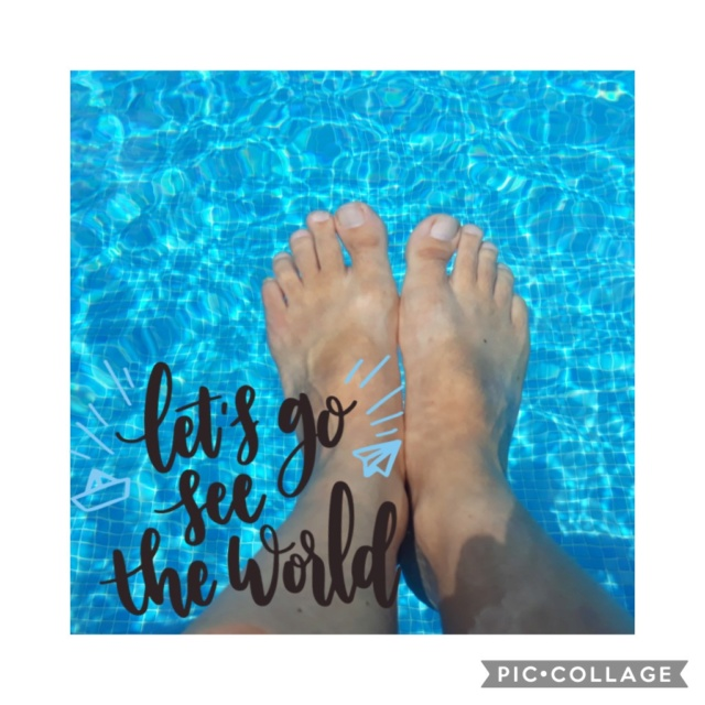 6 juillet : nos pieds Collag10