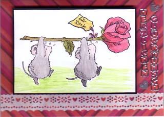 Mäuse mit tragender Rolle Geburt21