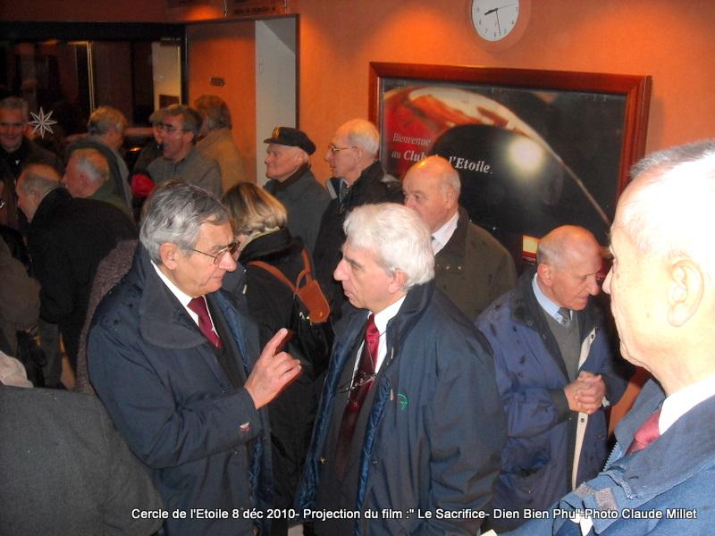 DIEN BIEN PHU 1954 - LE SACRIFICE -8 décembre 2010 à 20h30 club de l'ETOILE - le Film Philippe DELARBRE réalisateur- Le Colonel Jacques ALLAIRE interviendra 2010_110