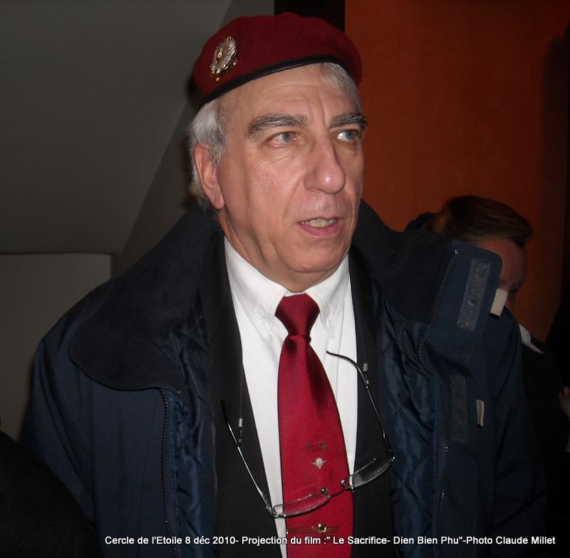 DIEN BIEN PHU 1954 - LE SACRIFICE -8 décembre 2010 à 20h30 club de l'ETOILE - le Film Philippe DELARBRE réalisateur- Le Colonel Jacques ALLAIRE interviendra 2010_111
