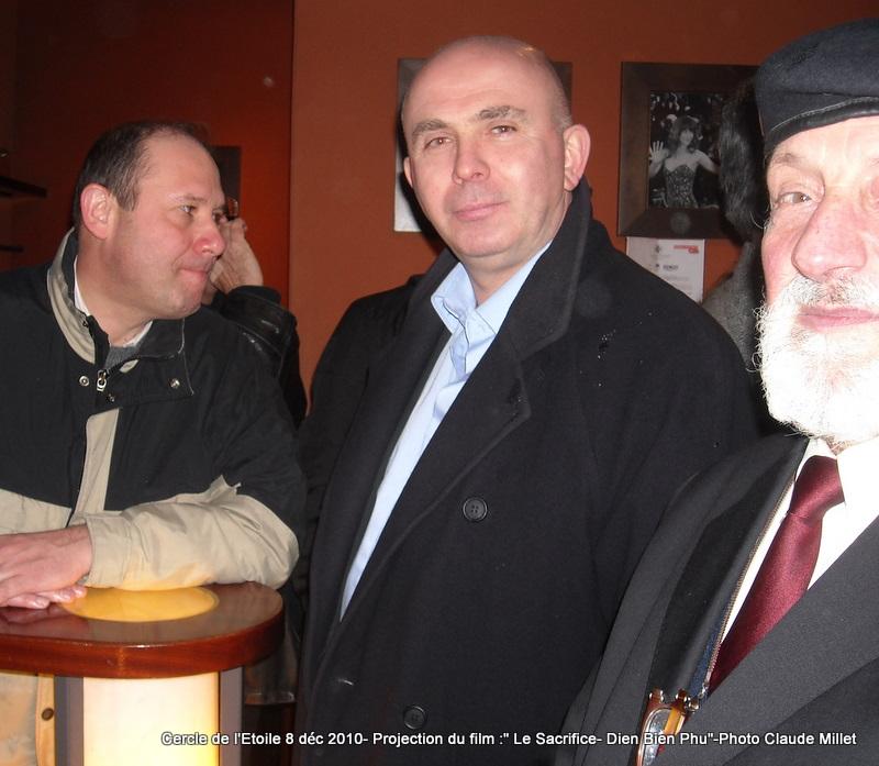 DIEN BIEN PHU 1954 - LE SACRIFICE -8 décembre 2010 à 20h30 club de l'ETOILE - le Film Philippe DELARBRE réalisateur- Le Colonel Jacques ALLAIRE interviendra 2010_113