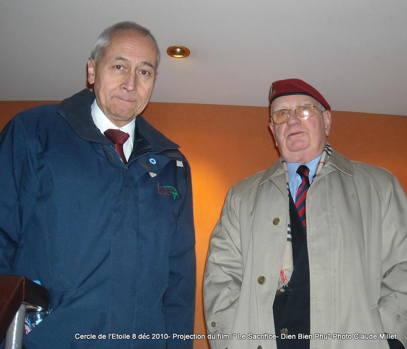 DIEN BIEN PHU 1954 - LE SACRIFICE -8 décembre 2010 à 20h30 club de l'ETOILE - le Film Philippe DELARBRE réalisateur- Le Colonel Jacques ALLAIRE interviendra 2010_114