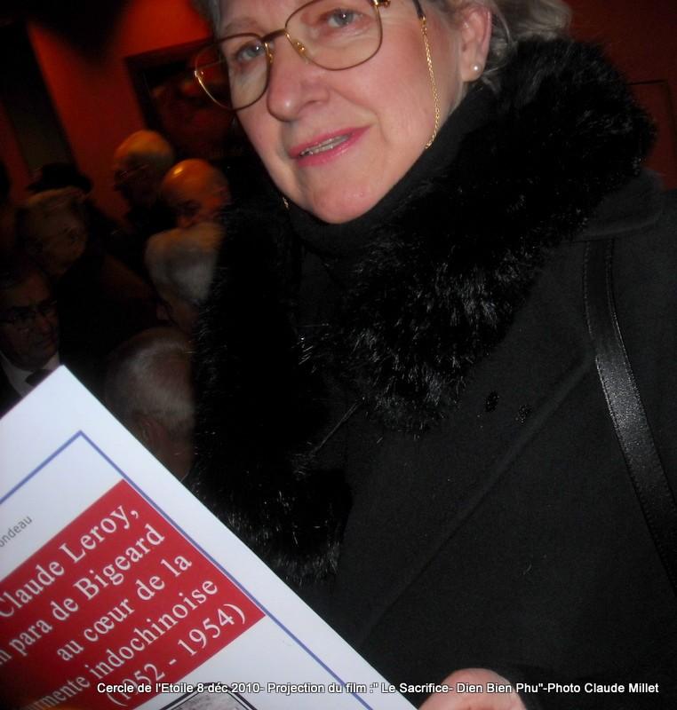 DIEN BIEN PHU 1954 - LE SACRIFICE -8 décembre 2010 à 20h30 club de l'ETOILE - le Film Philippe DELARBRE réalisateur- Le Colonel Jacques ALLAIRE interviendra 2010_115