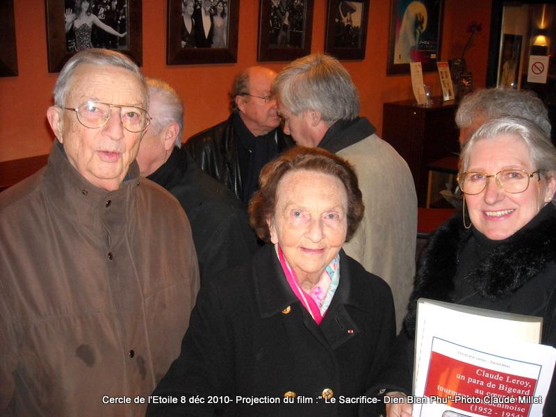 DIEN BIEN PHU 1954 - LE SACRIFICE -8 décembre 2010 à 20h30 club de l'ETOILE - le Film Philippe DELARBRE réalisateur- Le Colonel Jacques ALLAIRE interviendra 2010_116