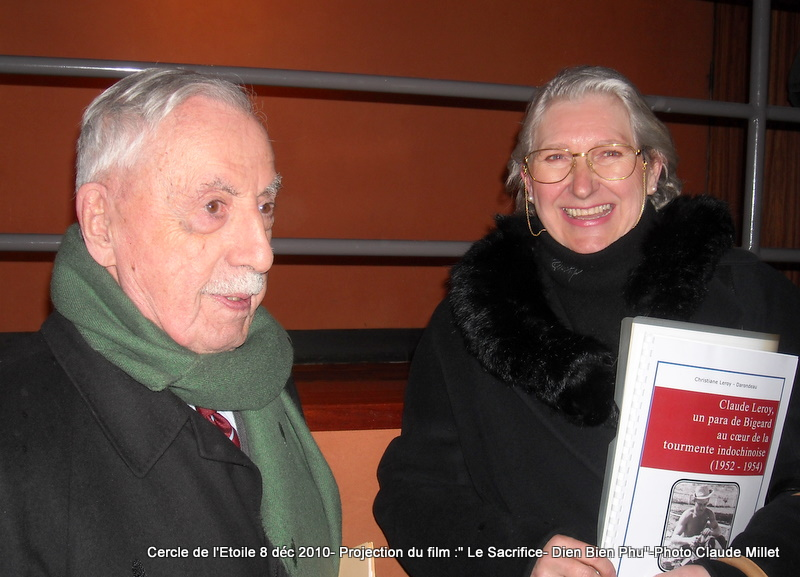 DIEN BIEN PHU 1954 - LE SACRIFICE -8 décembre 2010 à 20h30 club de l'ETOILE - le Film Philippe DELARBRE réalisateur- Le Colonel Jacques ALLAIRE interviendra 2010_117