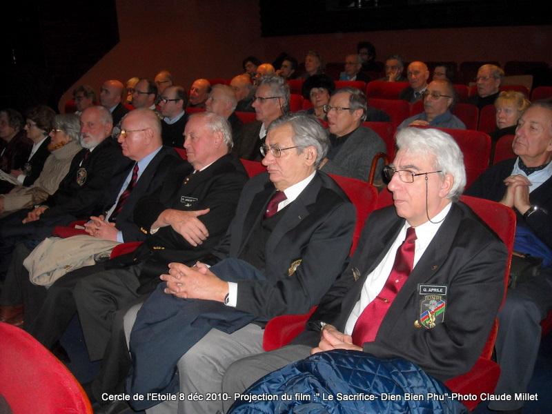 DIEN BIEN PHU 1954 - LE SACRIFICE -8 décembre 2010 à 20h30 club de l'ETOILE - le Film Philippe DELARBRE réalisateur- Le Colonel Jacques ALLAIRE interviendra 2010_119