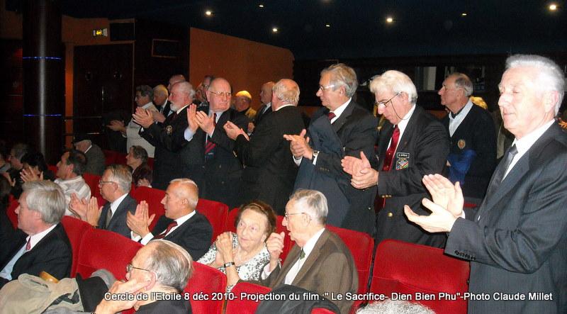 DIEN BIEN PHU 1954 - LE SACRIFICE -8 décembre 2010 à 20h30 club de l'ETOILE - le Film Philippe DELARBRE réalisateur- Le Colonel Jacques ALLAIRE interviendra 2010_122