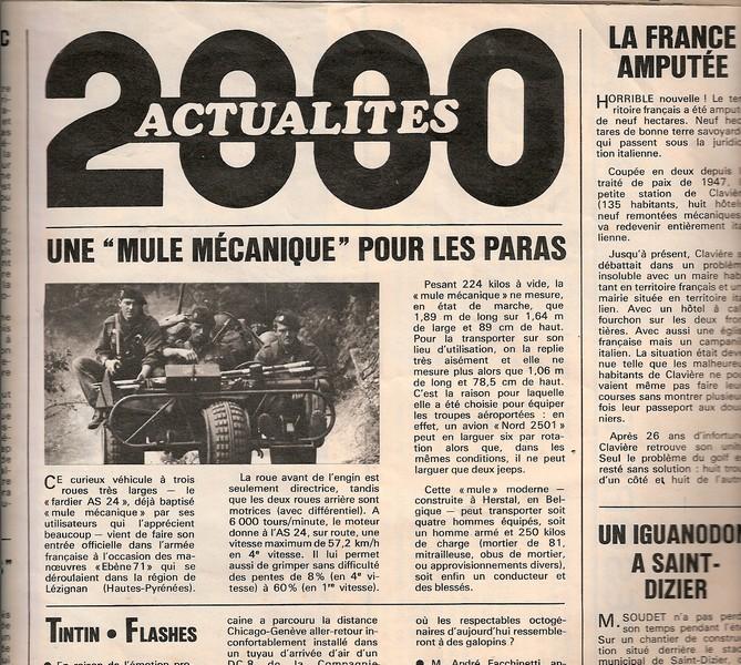 """Vous souvenez-vous du fardier AS24 baptisé """"la mule mécanique"""" par les paras Fardie10"""