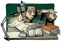Artículo: 11 maneras creativas para evitar convertirnos en adictos al trabajo... Adicto10
