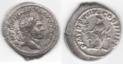 Vente de deniers romains 01110