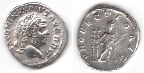 Vente de deniers romains 01410