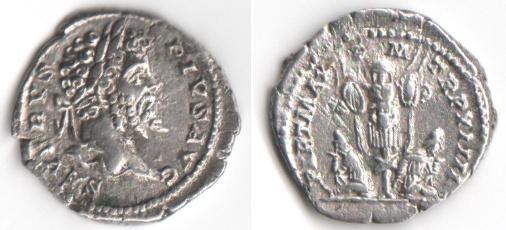 Vente de deniers romains 01910
