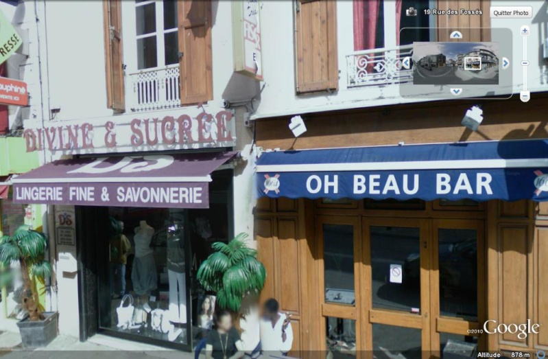 STREET VIEW : les façades de magasins (France) Enseig11