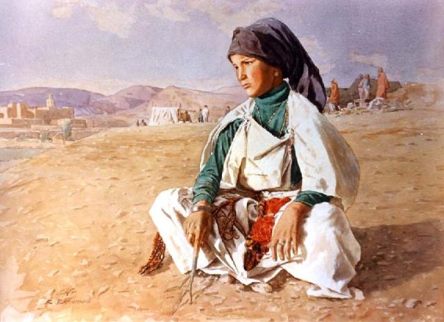 Les Peintres Orientalistes 1 Bouham11