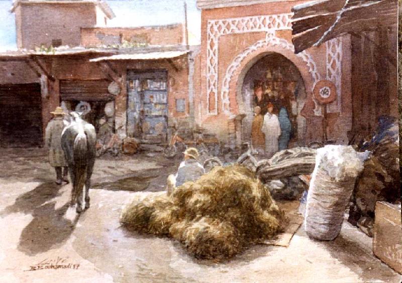Les Peintres Orientalistes 1 Bouham12