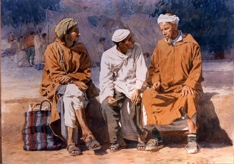 Les Peintres Orientalistes 1 Les_ne10