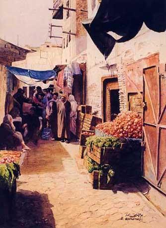 Les Peintres Orientalistes 1 Ruelle11