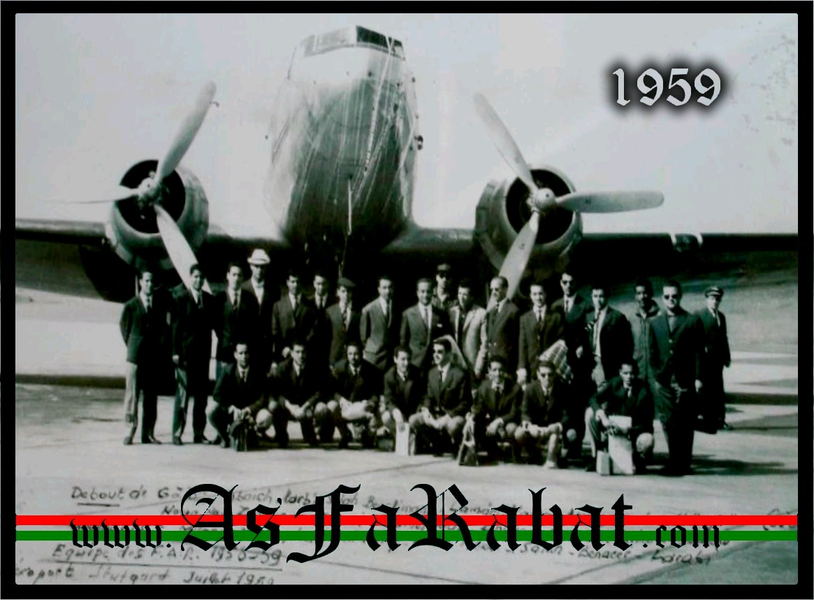 As Far Rabat en 1959 [ Tournée Européenne ] Documents exclu Sans_t17