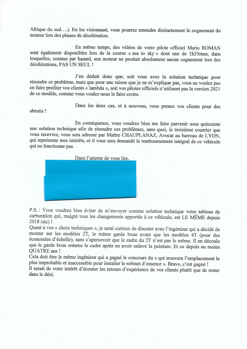 SHERCO 2T 2021 - Page 3 Lettre14