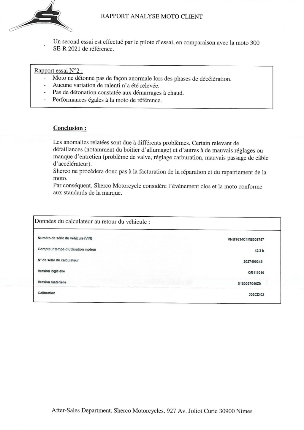 SHERCO 2T 2021 - Page 3 Lettre16