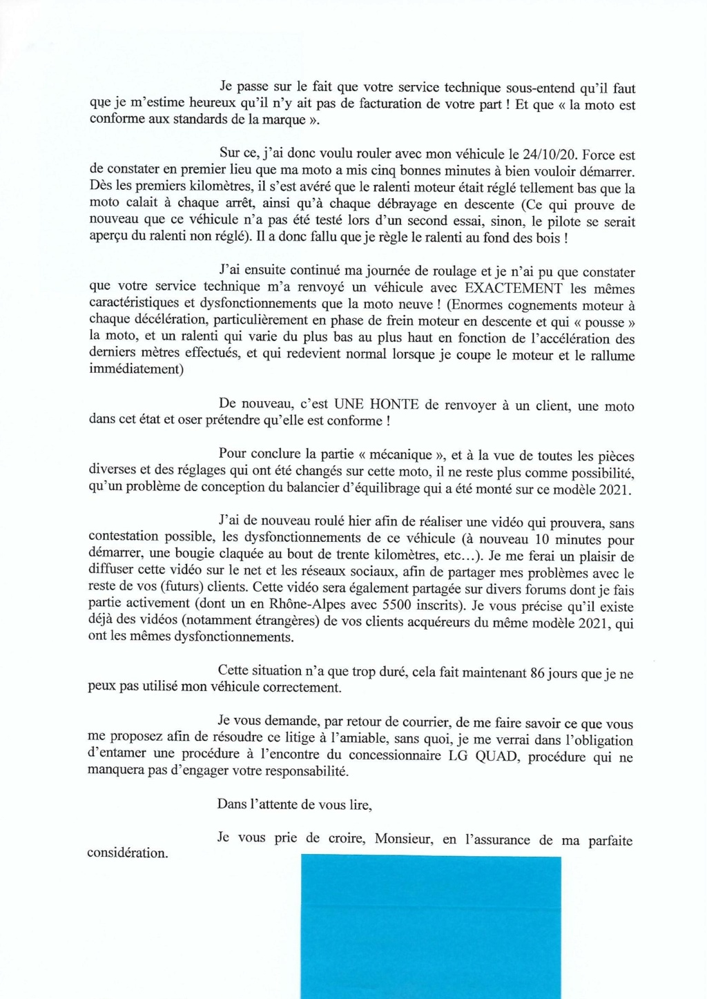 SHERCO 2T 2021 - Page 3 Lettre21