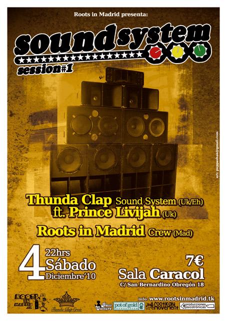 SOUND SYSTEM SESSIONS #1 @ Sala Caracol , Madrid , 4 / 12 / 2010  Rim-ca10
