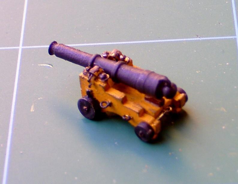 Zebra-Baubericht: HMS Victory v DeAgostini Kanone14