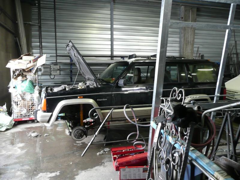 préparation et modification sur mon cherokee 2.5L Turbo D P1020710