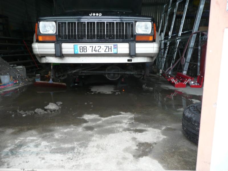 préparation et modification sur mon cherokee 2.5L Turbo D P1020711
