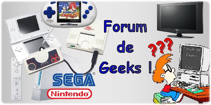 Forum de Geeks