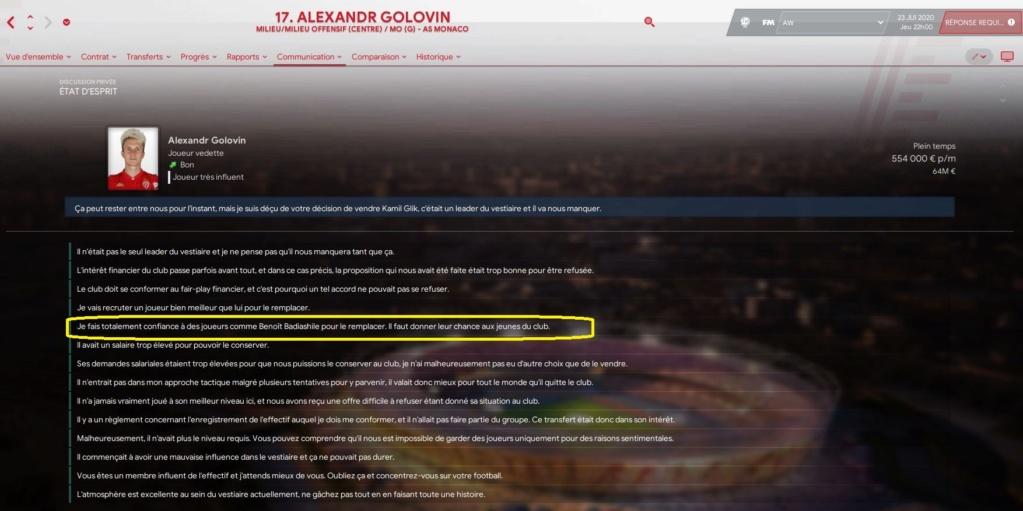 Réunion d'équipe Golovi11