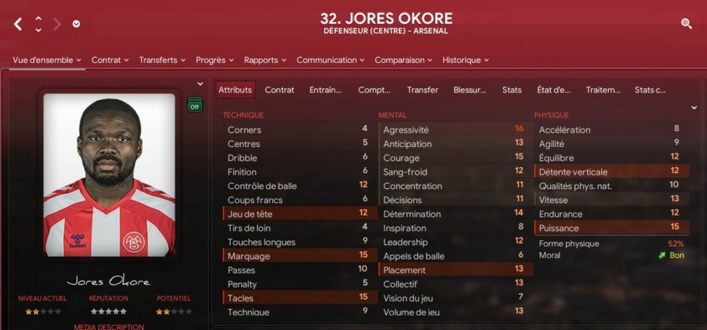 Arsenal Okore10