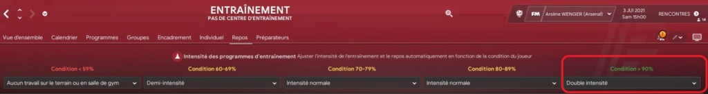 entrainements individuel Repos10