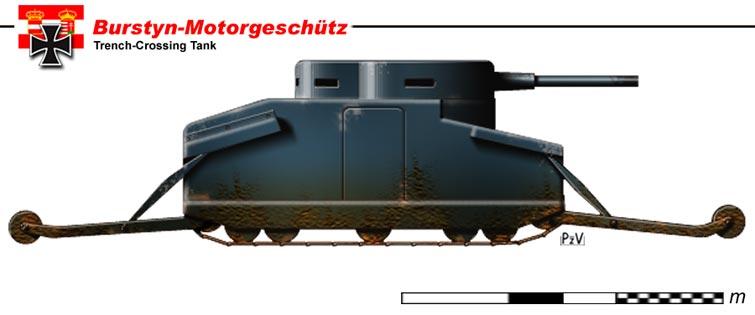 Images de tanks étranges de la première guerre mondiale  Tank10