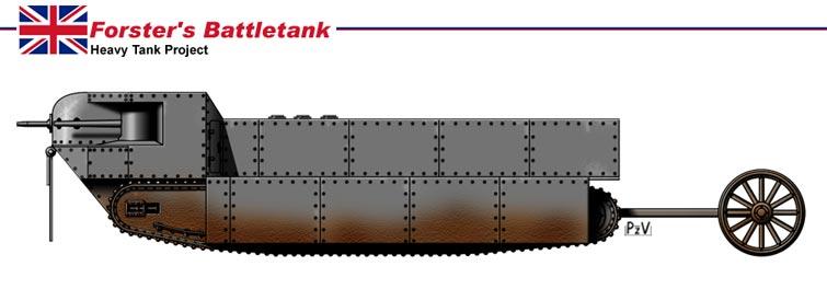 Images de tanks étranges de la première guerre mondiale  Tank212