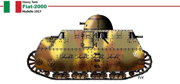 Images de tanks étranges de la première guerre mondiale  Tank310