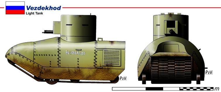 Images de tanks étranges de la première guerre mondiale  Tank510