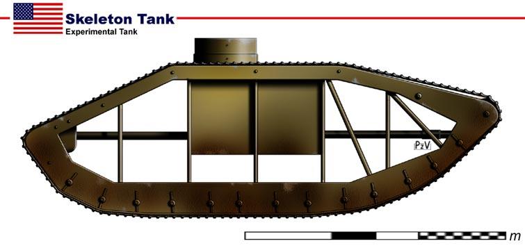 Images de tanks étranges de la première guerre mondiale  Tank610