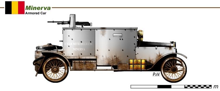 Images de tanks étranges de la première guerre mondiale  Tank710