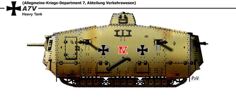 Images de tanks étranges de la première guerre mondiale  Tank810