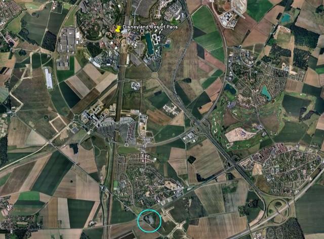 L'espace EuroDisney :ce qu'il est devenu  79523310