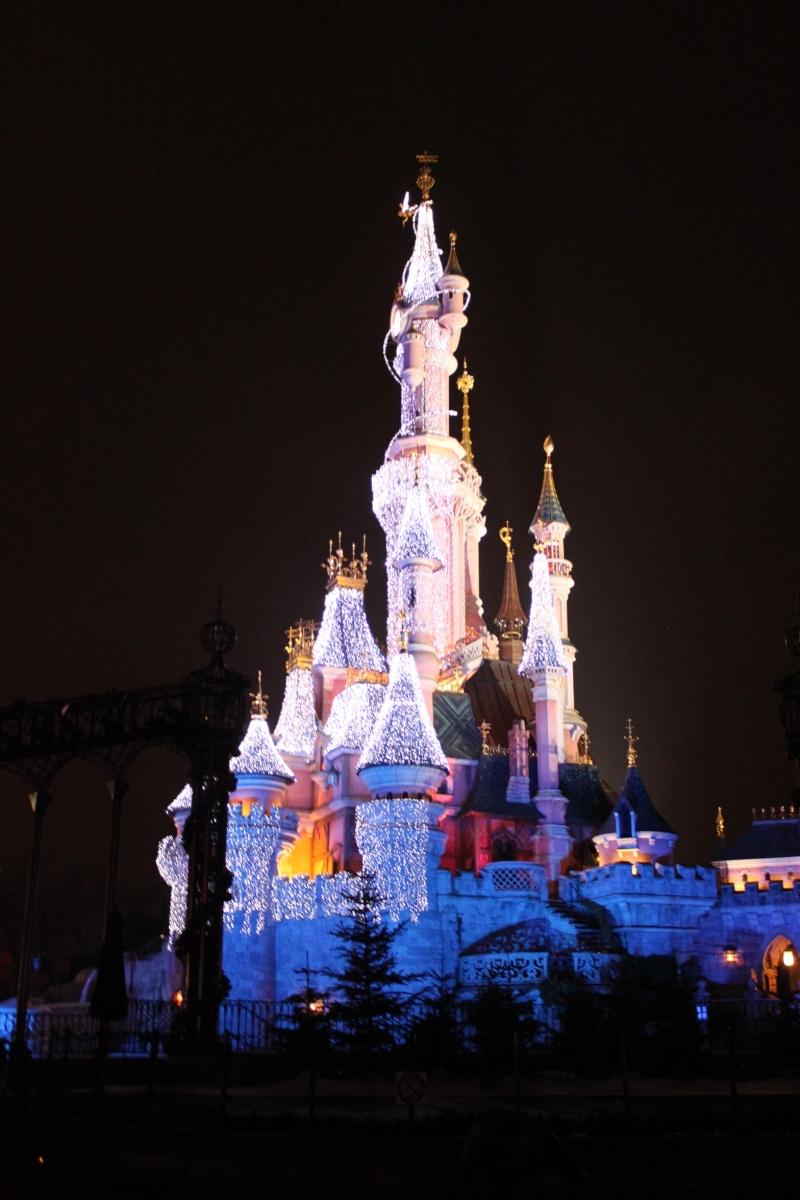 Illumination du Château Disney10