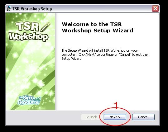 [Débutant] Manipuler TSRW - Installation du logiciel TSR Workshop  01_bmp10