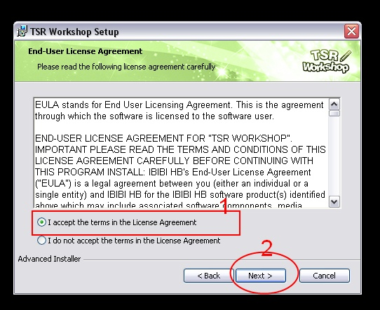 [Débutant] Manipuler TSRW - Installation du logiciel TSR Workshop  02_bmp10