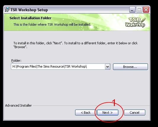 [Débutant] Manipuler TSRW - Installation du logiciel TSR Workshop  03_bmp10